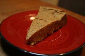 Oat flour buckwheat flour poppy seeds cinnamon ginger sugar-free vegan pumpkin pie
