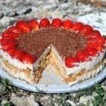 recipe, cake, tart, dessert, plant-based, vegan, lactose-free, casein-free, egg-free, gluten-free, buckwheat, ricotta, biscuit, cookie, cashews, almonds, walnuts, dates
