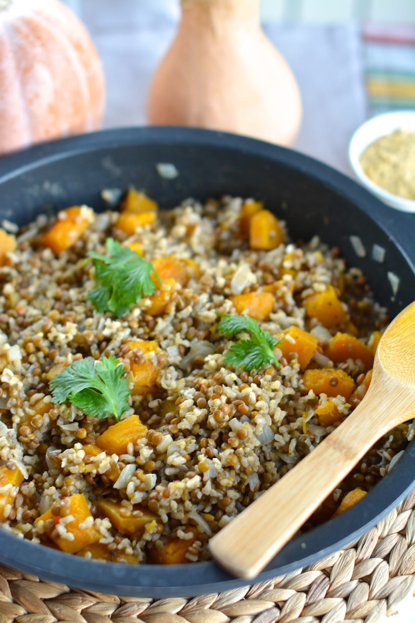 recipe, lunch, dinner, gluten-free, casein-free, oil-free, low fat, vegan, plant-based, risotto