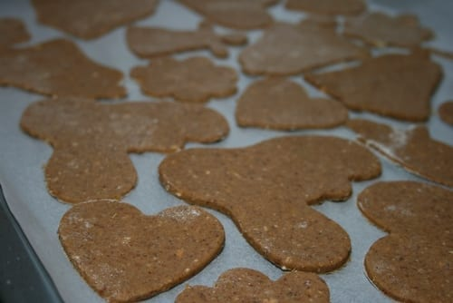 vegan gingerbread cookies, plant-based, sugar-free, recipe