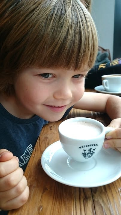 Cardo and coffee