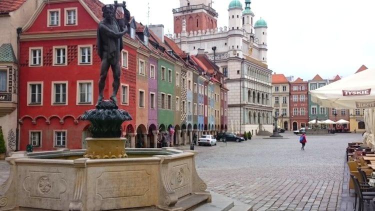 Poznan Town Hall Square