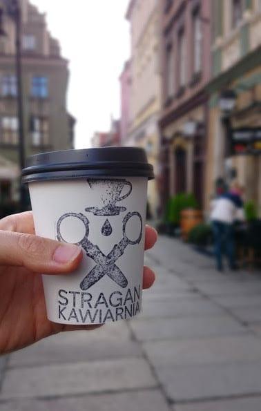Coffee from Stragan Kawiarnia in Poznan