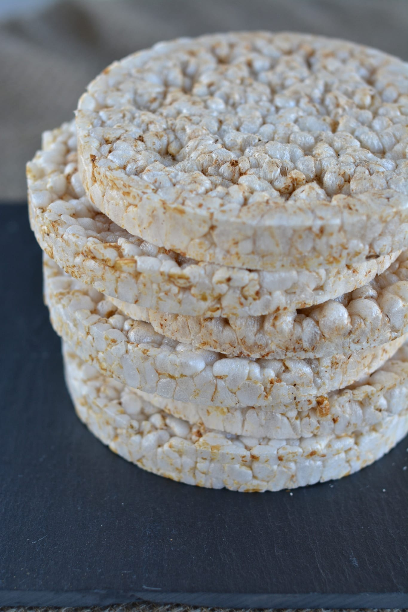 Arsenic in rice. Brown rice cakes.