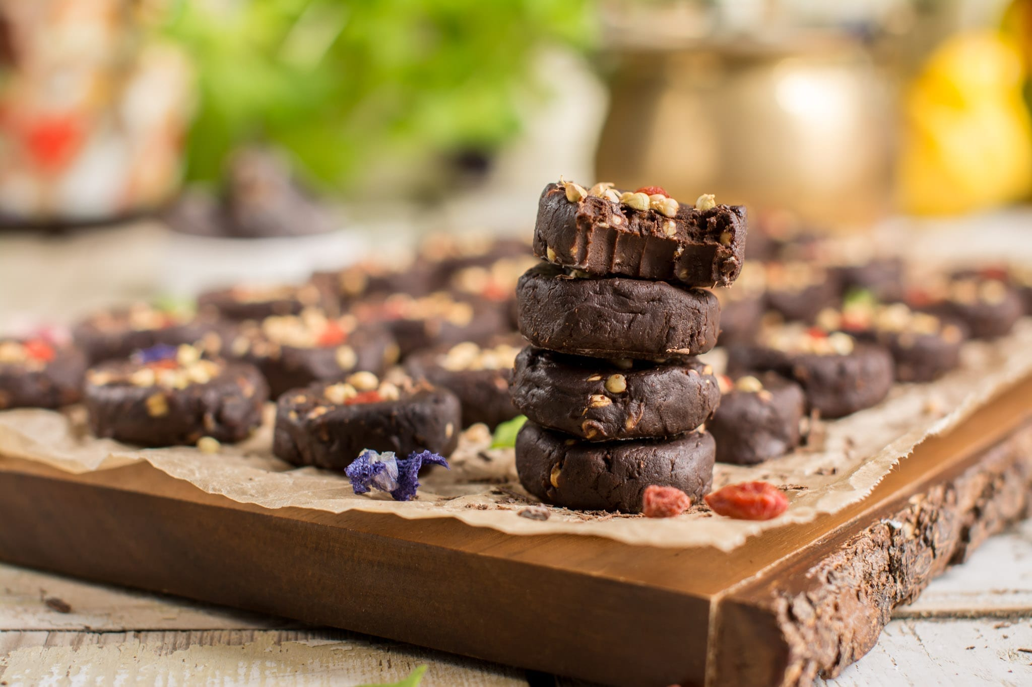 vegan Candida diet recipes Homemade Vegan Chocolate Candies with Oats