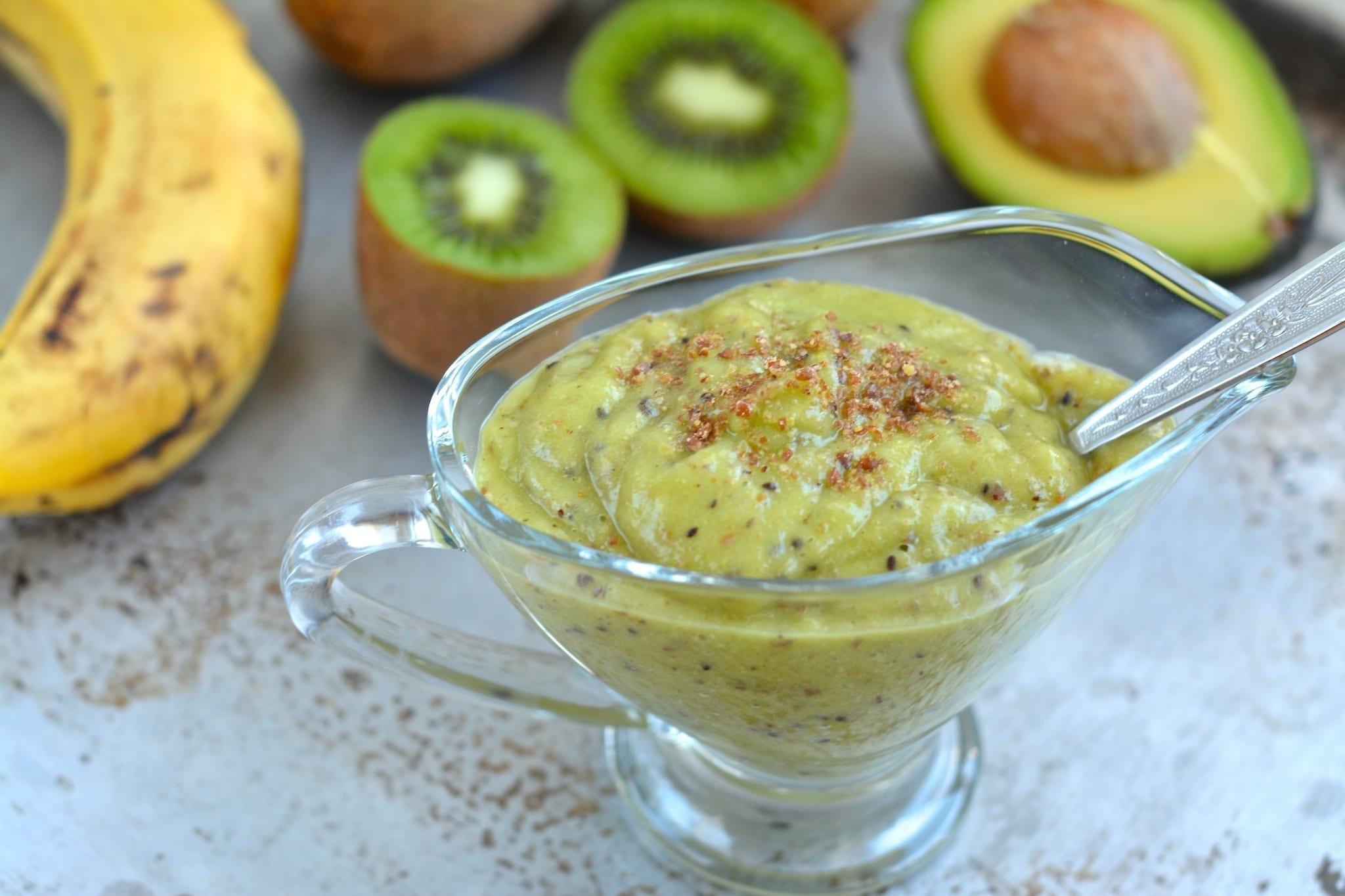 Smoothie, Kiwi-Avocado