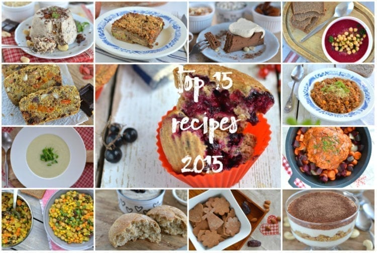 Top 15 Whole Food Plant-Based Recipes 2015