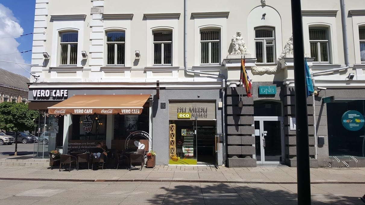 Organic shop Du Medu in Kaunas