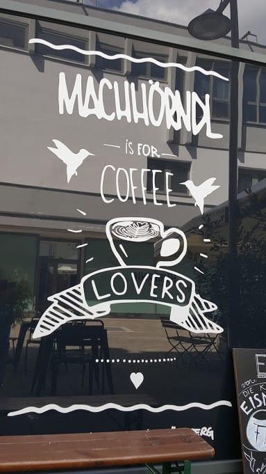 Specialty coffee shop Machhörndl in Nürnberg