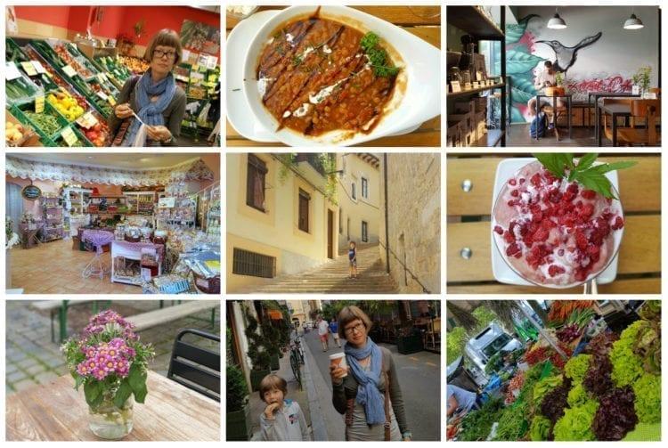 Vegan Road Trip 2016 collage