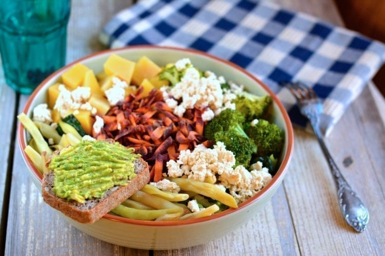 Vegan Candida Diet Buddha Bowl