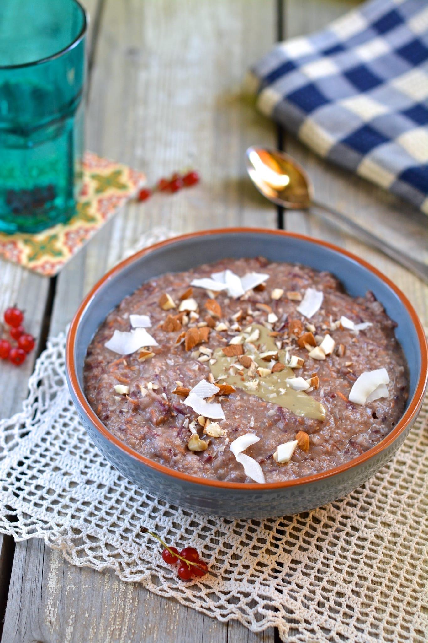 Porridge, Oat Bran-Buckwheat-Carrot
