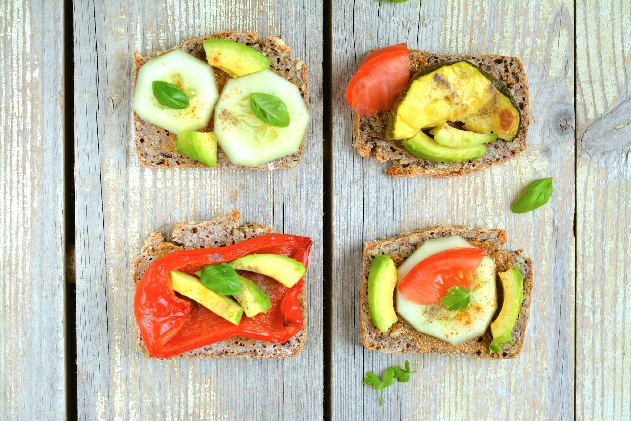 Fermented buckwheat bread sandwiches, vegan candida diet meal plans
