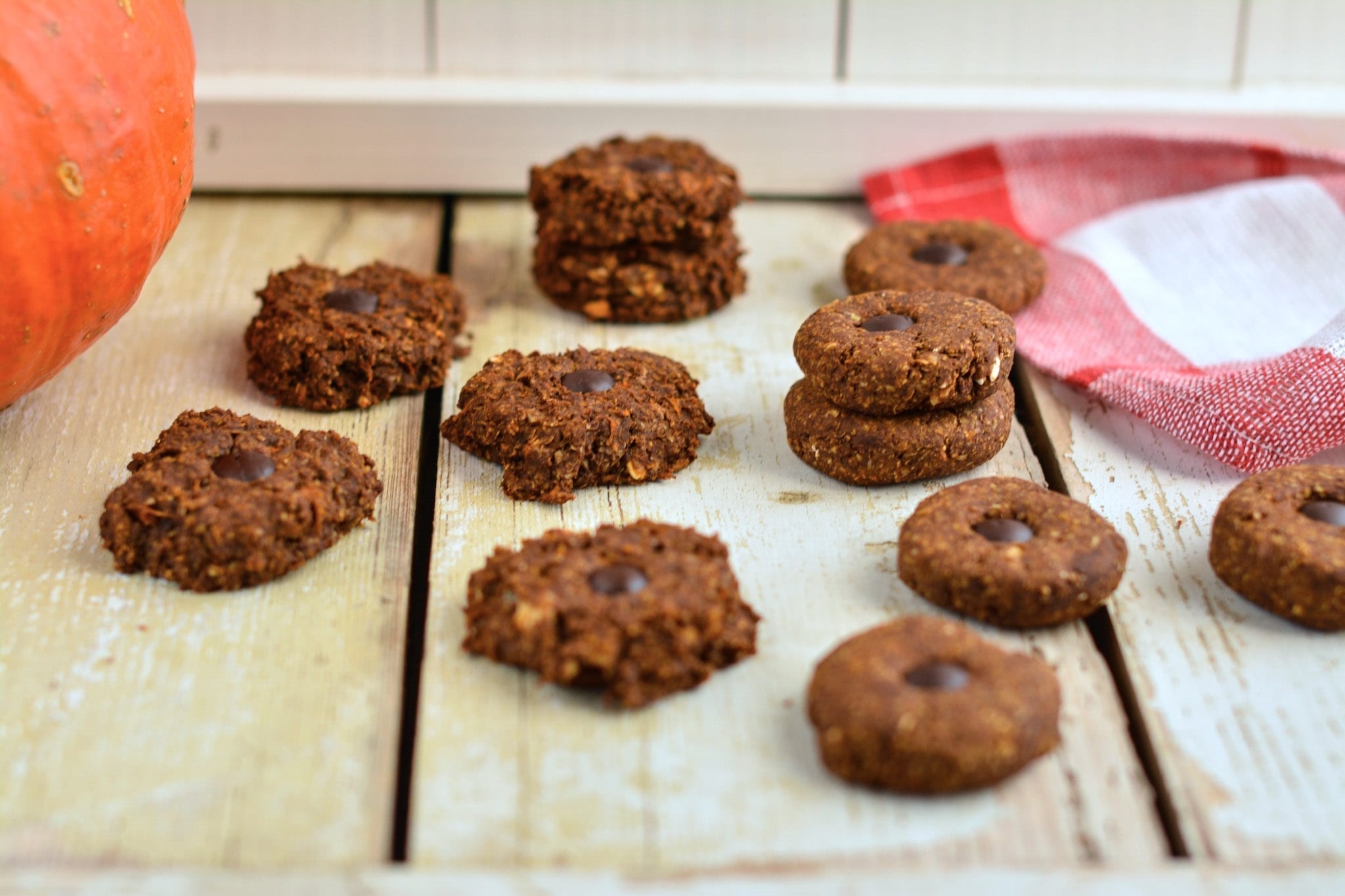 soft gingerbread cookies with butternut squash