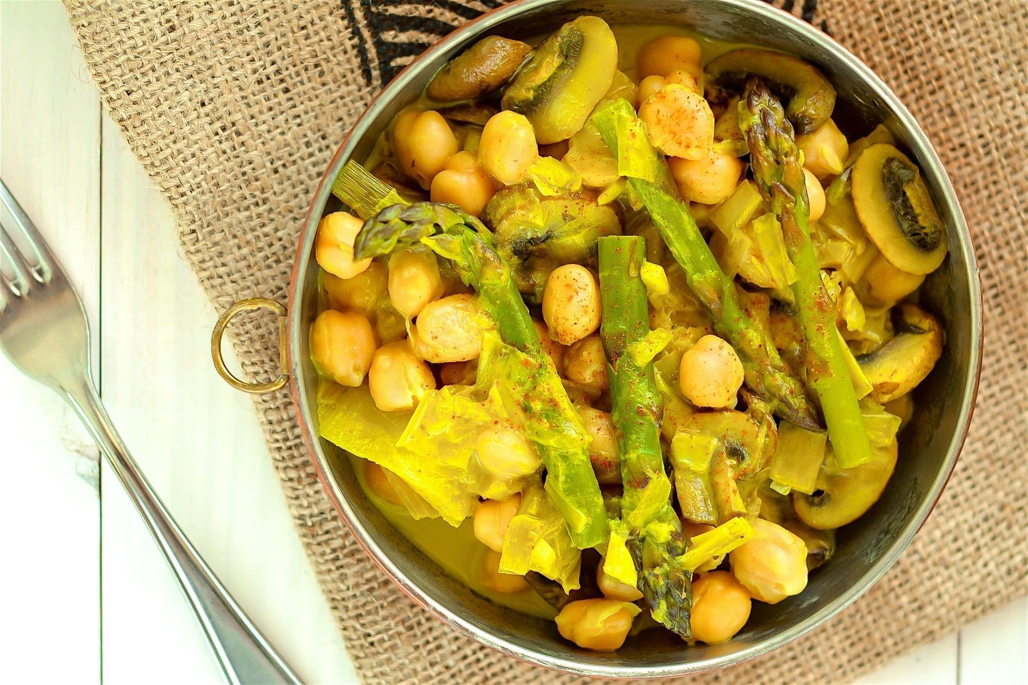 curry-asparagus-mushroom
