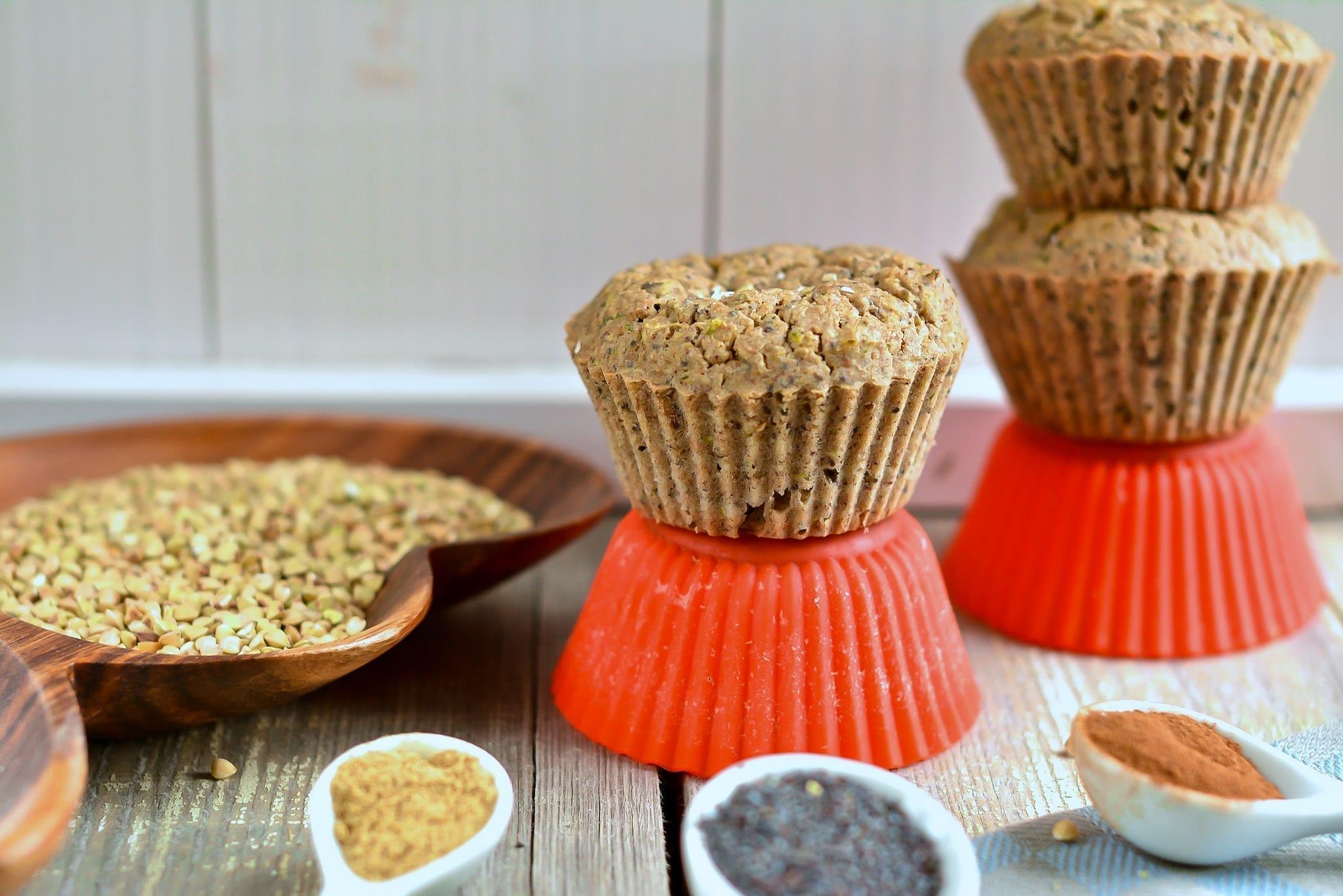 muffins-oat-bran-buckwheat-with-zucchini