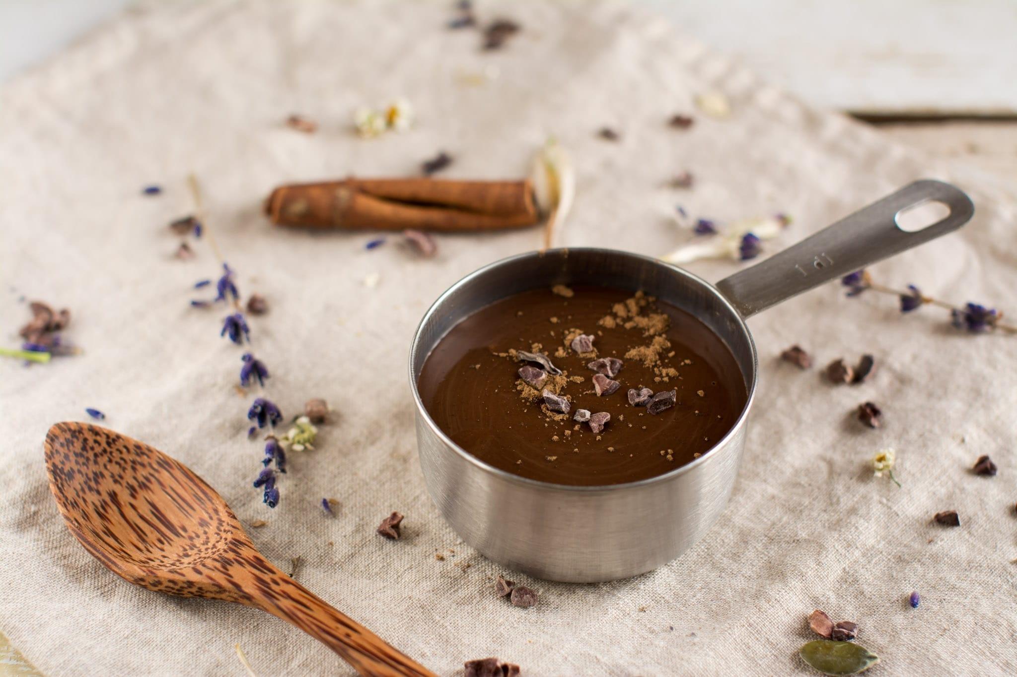 Vegan chocolate sauce