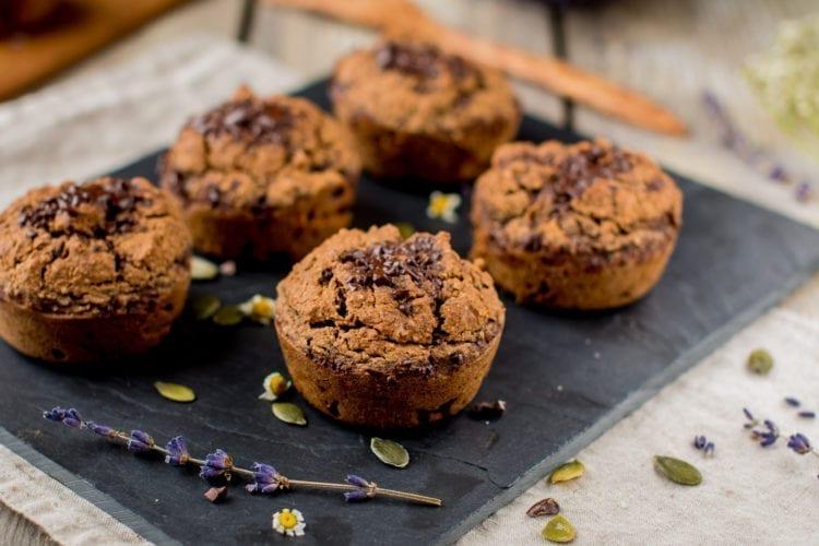 Chocolaty Sweet potato Muffins