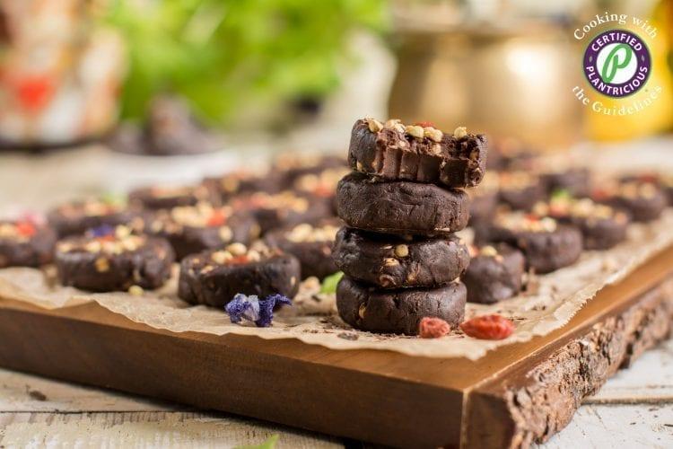 Homemade Vegan Chocolate Candies