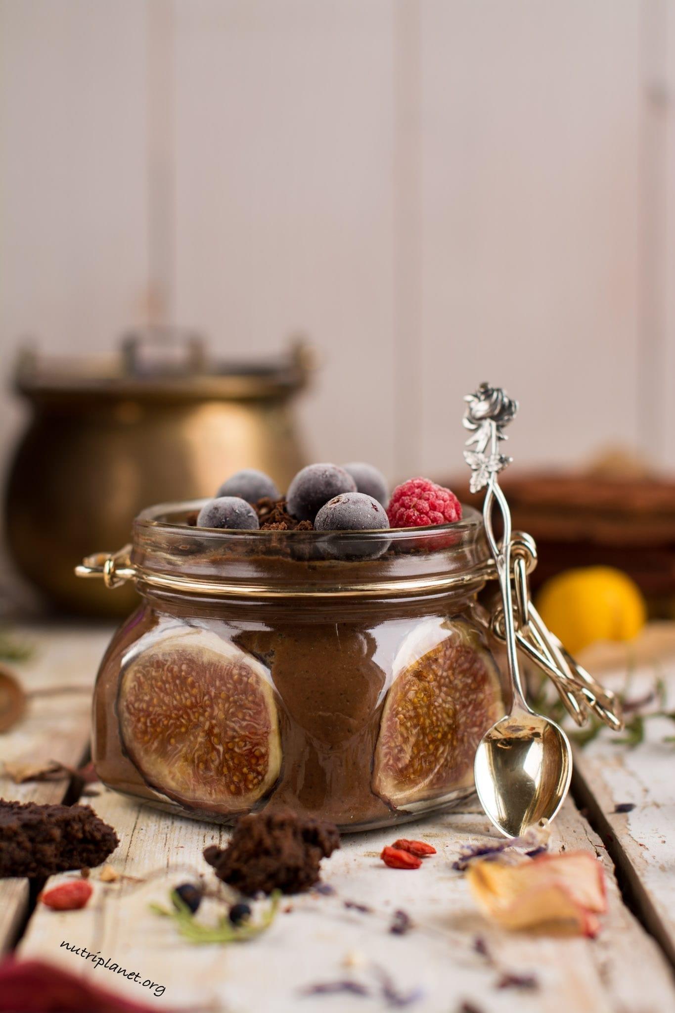 Vegan Chocolate Mousse Recipe with Cauliflower