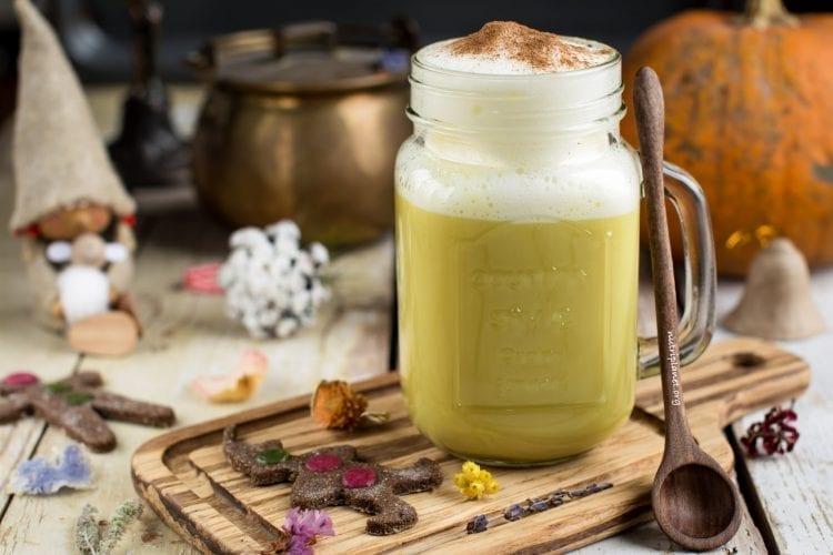 Golden Milk Recipe with Ginger