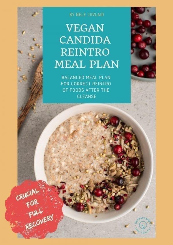 Vegan Candida Reintroduction Meal Plan