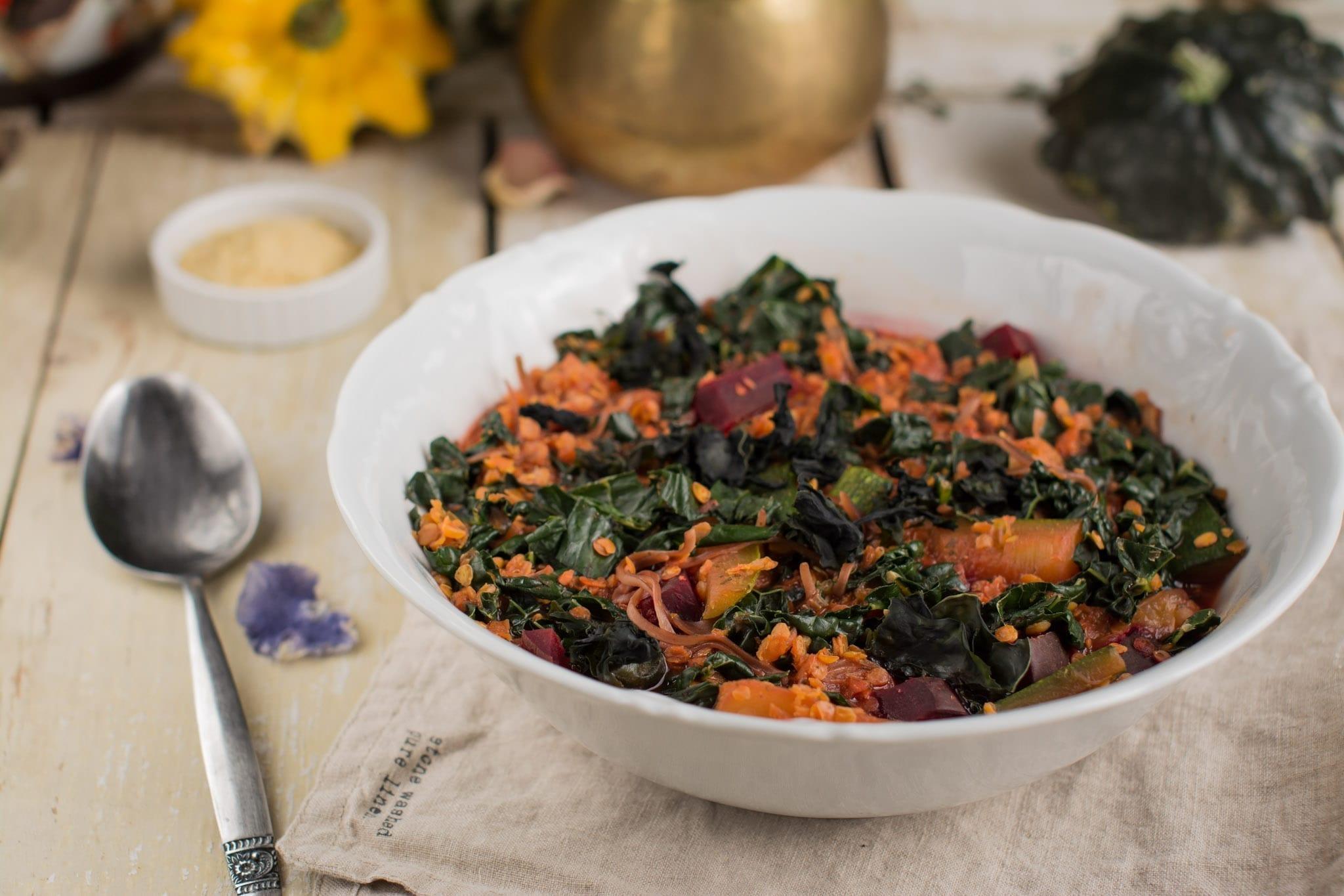 vegan candida diet meal plan Lentil Soup