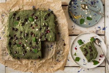 Chocolate Mint Brownies aka Greenies