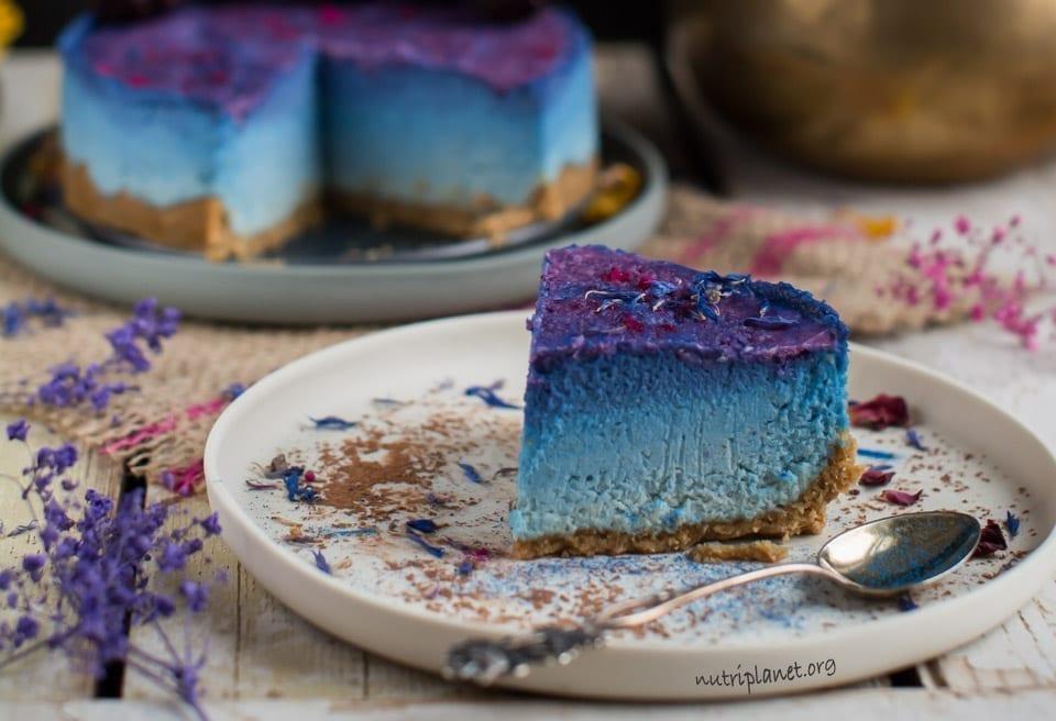 Raw Vegan Cheesecake Recipe with Cashews [Oil Free, Refined Sugar Free, Candida diet Friendly]