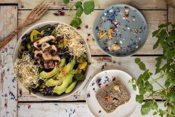 Easy Vegan Lunch Buddha Bowl