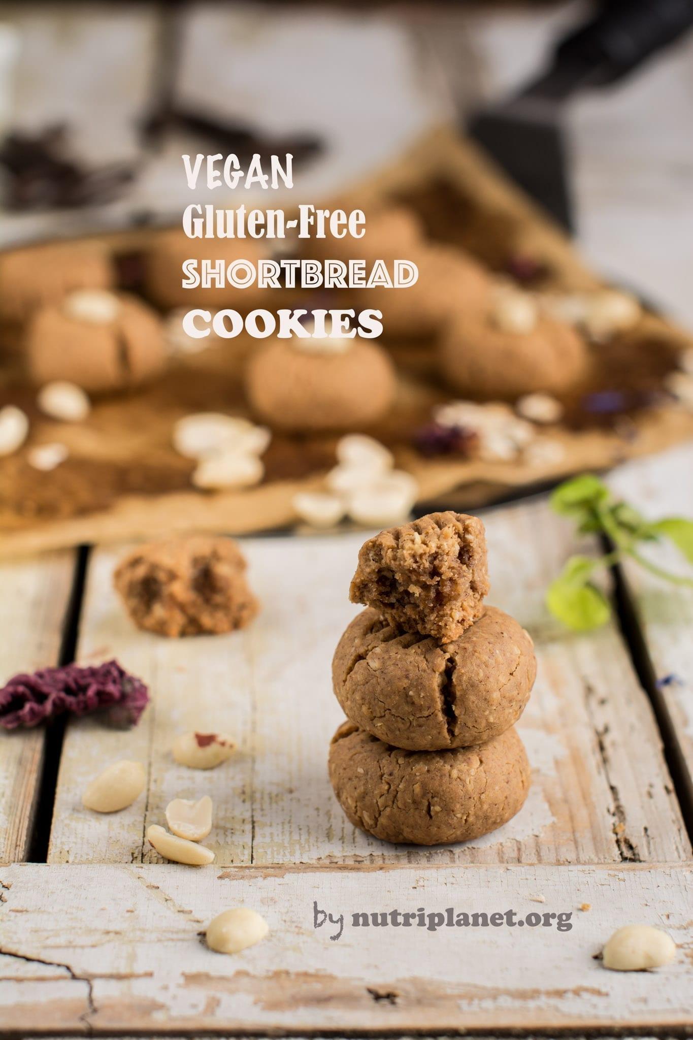 Gluten Free Vegan Shortcrust Pastry or Shortbread Dough