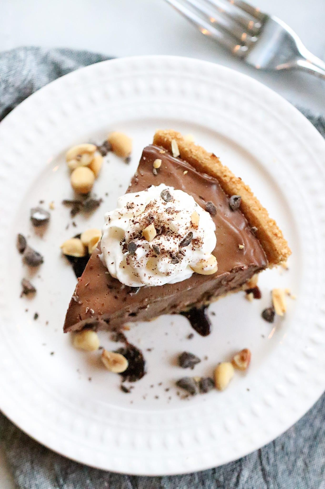 Vegan Chocolate Peanut Butter Pie, Peanut Butter Recipes