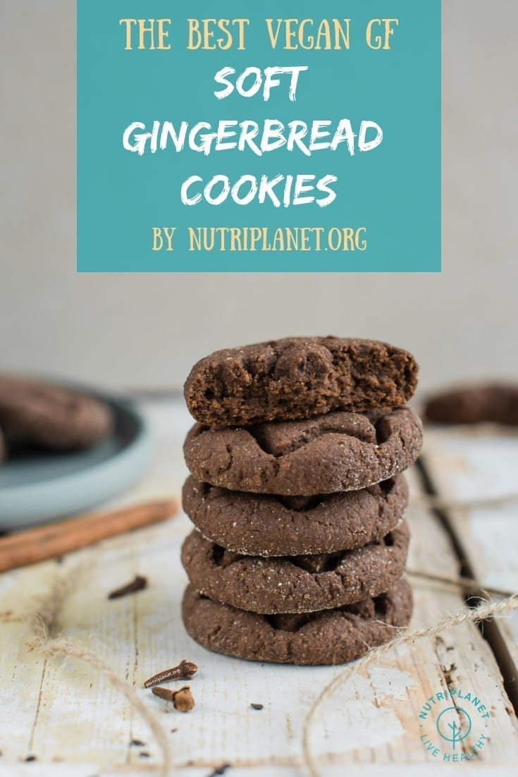 Chewy and Soft Gingerbread Cookies Recipe