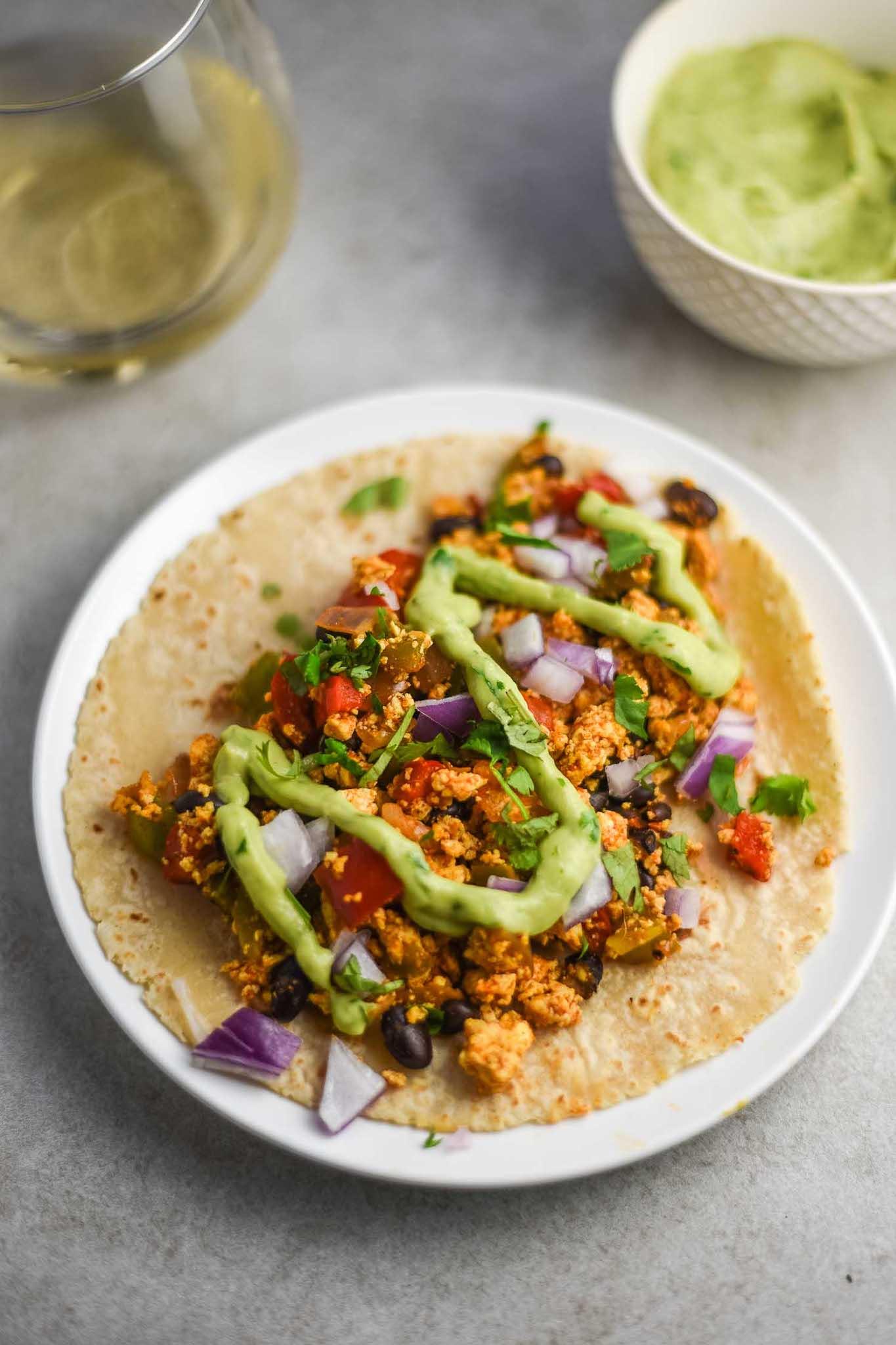 Healthy Vegan Breakfast Recipes, Tacos