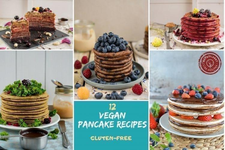 12 Gluten-Free Vegan Pancake Recipes