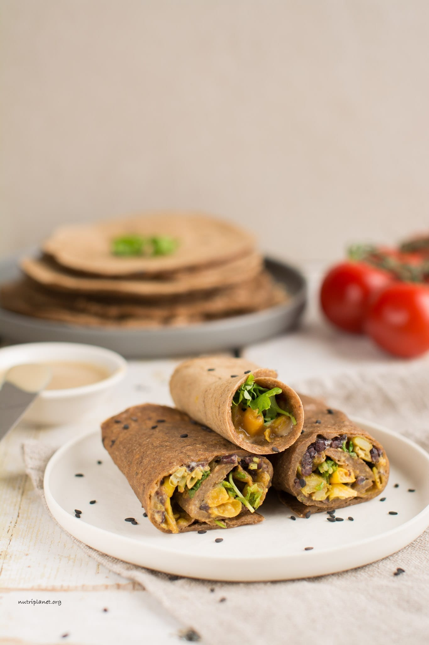 Flavoured Gluten-Free Tortillas