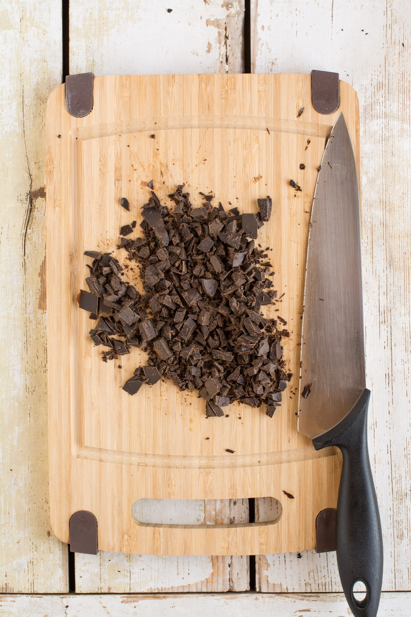 Homemade Unsweetened Carob Chips without Palm Oil