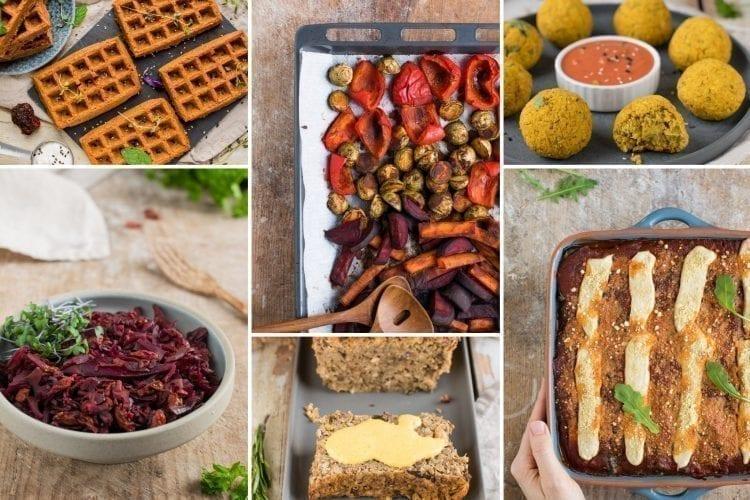 Healthy vegan holiday recipes